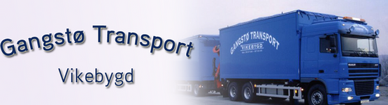 Logo, Gangstø Transport